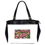 flowers Oversize Office Handbag (Two Sides)