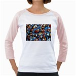 gloss-paint Girly Raglan