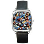 gloss-paint Square Metal Watch