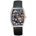 gloss-paint Barrel Style Metal Watch