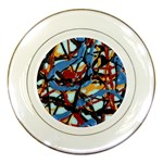 gloss-paint Porcelain Plate