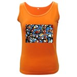 gloss-paint Women s Dark Tank Top