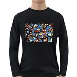 gloss-paint Long Sleeve Dark T-Shirt