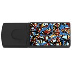 gloss-paint USB Flash Drive Rectangular (4 GB)