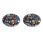 gloss-paint Cufflinks (Oval)