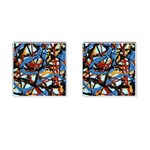 gloss-paint Cufflinks (Square)