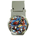 gloss-paint Money Clip Watch