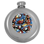 gloss-paint Hip Flask (5 oz)