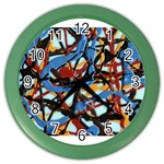 gloss-paint Color Wall Clock