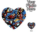 gloss-paint Multi-purpose Cards (Heart)