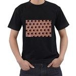 bee hives Black T-Shirt (Two Sides)