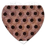 bee hives Jigsaw Puzzle (Heart)