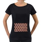 bee hives Maternity Black T-Shirt
