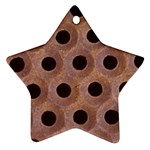 bee hives Star Ornament (Two Sides)