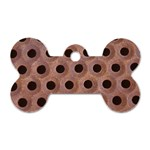 bee hives Dog Tag Bone (Two Sides)