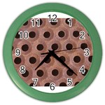 bee hives Color Wall Clock