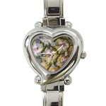 pineapple Heart Italian Charm Watch