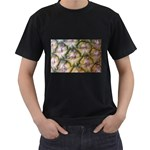 pineapple Black T-Shirt (Two Sides)