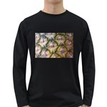 pineapple Long Sleeve Dark T-Shirt