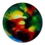 colours-h6w9 Round Mousepad
