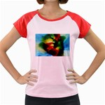 colours-h6w9 Women s Cap Sleeve T-Shirt