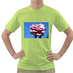 flower-bv5wa Green T-Shirt