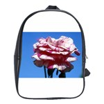 flower-bv5wa School Bag (Large)