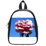 flower-bv5wa School Bag (Small)
