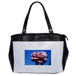 flower-bv5wa Oversize Office Handbag (One Side)