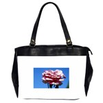 flower-bv5wa Oversize Office Handbag (Two Sides)