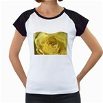 flower-07 Women s Cap Sleeve T