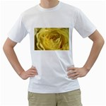 flower-07 White T-Shirt