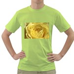 flower-07 Green T-Shirt