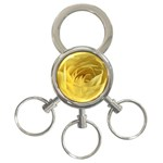 flower-07 3-Ring Key Chain