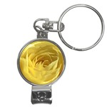 flower-07 Nail Clippers Key Chain
