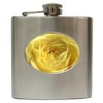 flower-07 Hip Flask (6 oz)