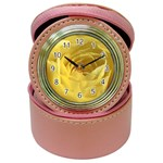 flower-07 Jewelry Case Clock