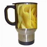 flower-07 Travel Mug (White)