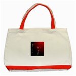 watermark2 Classic Tote Bag (Red)