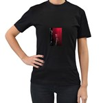 watermark2 Women s Black T-Shirt