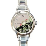 watermark2 Round Italian Charm Watch