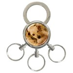 Dog Keychain - 3-Ring Key Chain