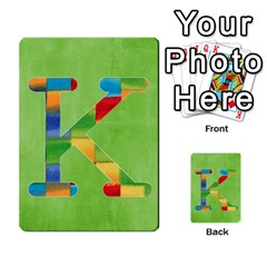 Flash Cards Abc By Brookieadkins Yahoo Com   Multi Purpose Cards (rectangle)   Sozoljc264mq   Www Artscow Com Front 12