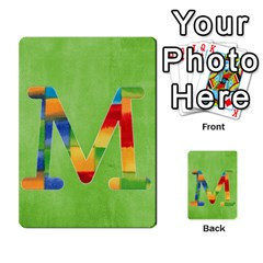 Flash Cards Abc By Brookieadkins Yahoo Com   Multi Purpose Cards (rectangle)   Sozoljc264mq   Www Artscow Com Front 13
