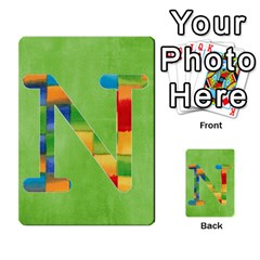 Flash Cards Abc By Brookieadkins Yahoo Com   Multi Purpose Cards (rectangle)   Sozoljc264mq   Www Artscow Com Front 14