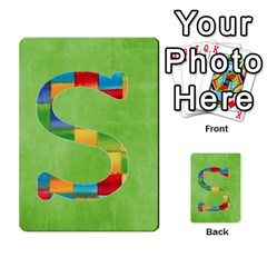 Flash Cards Abc By Brookieadkins Yahoo Com   Multi Purpose Cards (rectangle)   Sozoljc264mq   Www Artscow Com Front 19