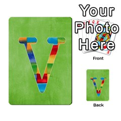 Flash Cards Abc By Brookieadkins Yahoo Com   Multi Purpose Cards (rectangle)   Sozoljc264mq   Www Artscow Com Front 22