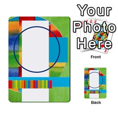 Flash Cards Abc By Brookieadkins Yahoo Com   Multi Purpose Cards (rectangle)   Sozoljc264mq   Www Artscow Com Back 33