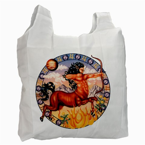 Sagittarius Reclycle Bag By Enkay   Recycle Bag (one Side)   Ilfkmctm9xuj   Www Artscow Com Front