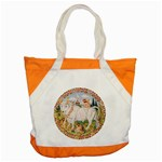 Taurus zodiac horoscope tote - Accent Tote Bag